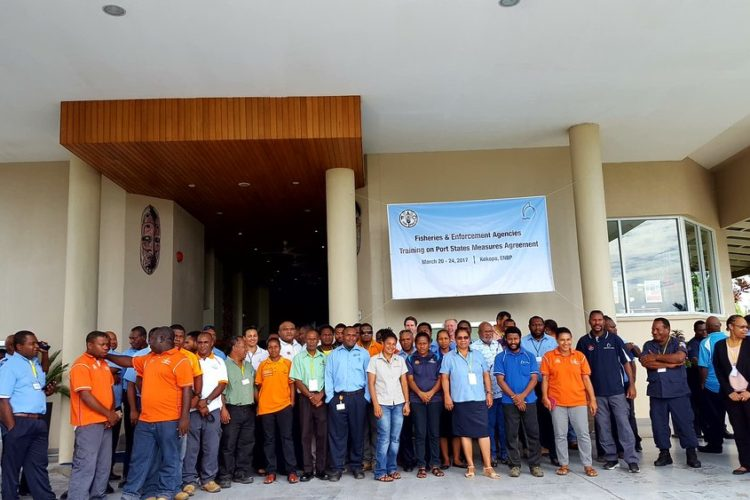 Back in PNG with FAO and Port State Measures