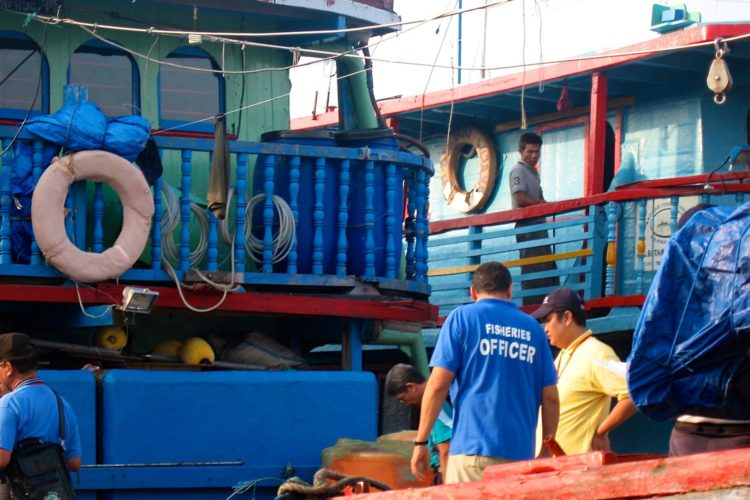 Blue boats are back, warns New Caledonia