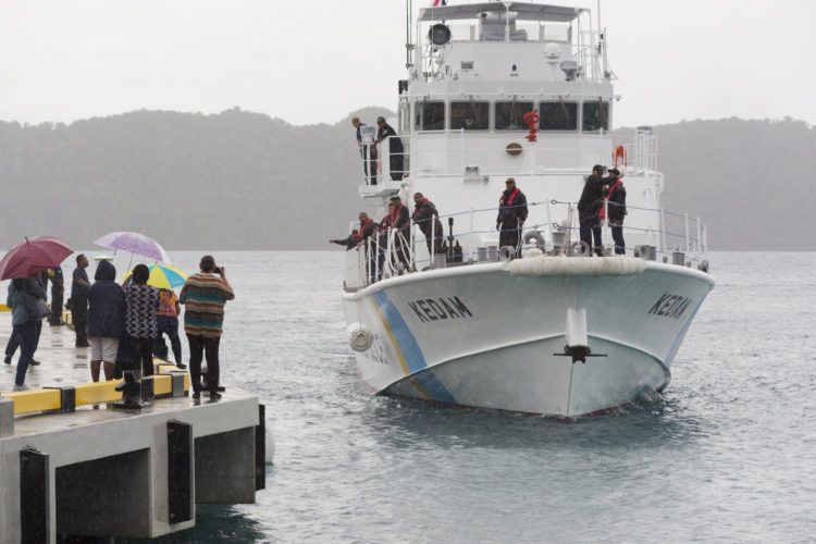Palau's marine surveillance boosted with new patrol boat