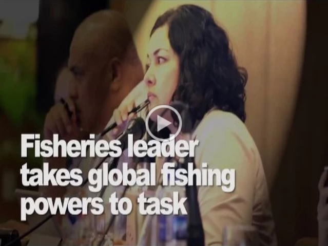Fisheries leader takes global fishing powers to task