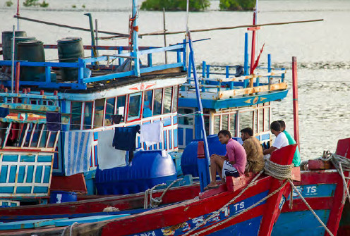 The Vietnamese 'blue boats' sneaking into the Central and South Pacific