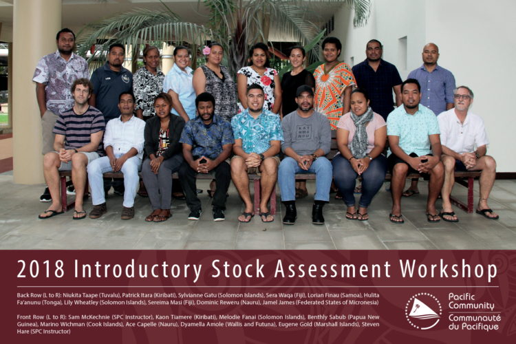 Tuna stock assessment training workshops in Noumea