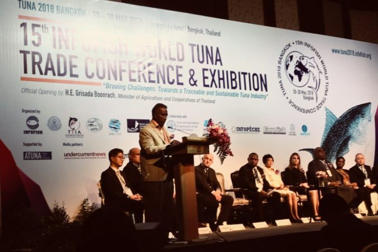 SPC scientist presents at the Infofish Tuna 2018 conference and exhibition, Thailand