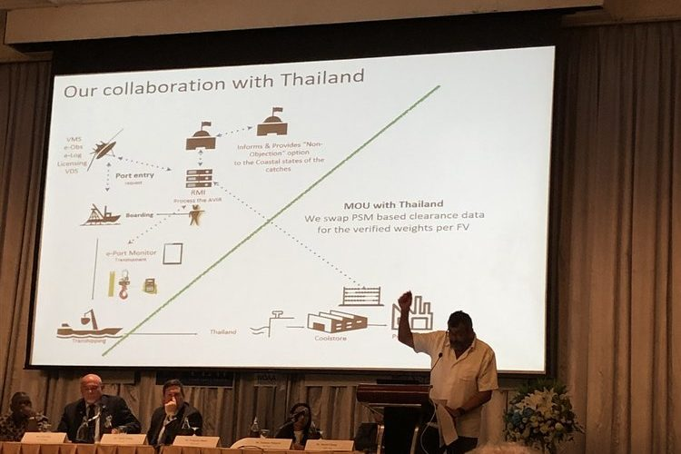 The Marshall Islands and Thailand establish cooperation and exchange of information to prevent IUU fishing practices