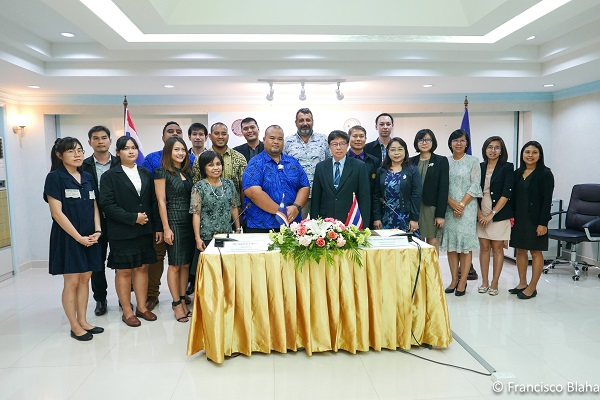 PRESS RELEASE: Marshall Islands Marine Resources Authority Signs Fisheries Collaboration MoU with Thailand's Department of Fisheries