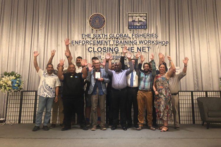 MEDIA RELEASE: FFA wins global Stop IUU Fishing prize
