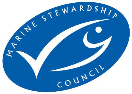 Marine Stewardship Council logo of certification