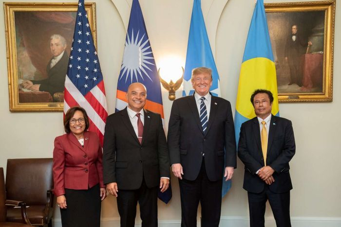 Trump administration to work together with Palau, FSM, and RMI to combat IUU fishing