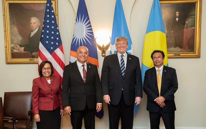 Climate change missing from Trump's Pacific meeting – analysts