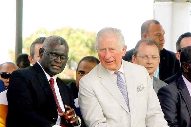 Prince Charles launches Solomon Islands' Ocean Policy