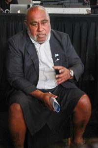 Fijian Fisheries Minister Mr Semi Koroilavesau
