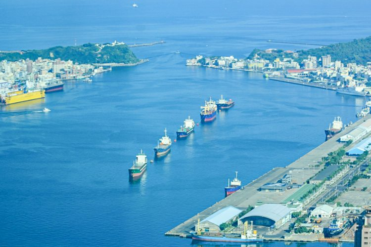 Kaohsiung Port in Taiwan is the destination of most tuna caught in Solomon Islands waters. Photo: Ronald F. Toito'ona
