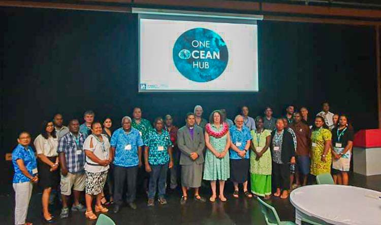 Participants of the February OOH workshop. Photo: One Ocean Hub.