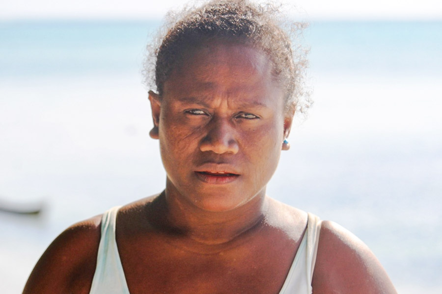 Head and shoulders portrait of Betty Koidi. Photo WorldFish/Bira'au Wilson Saeni.