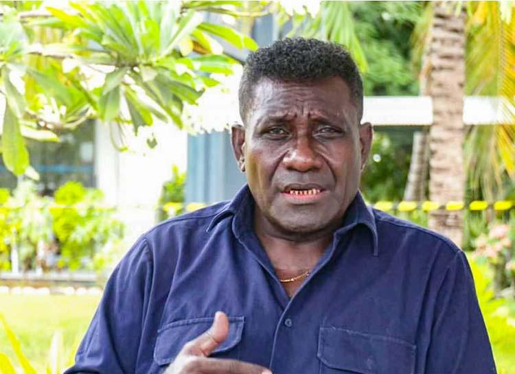 Head and shoulders photo of Gordon Darcy Lilo, former Solomon Islands Prime Minister. Photo: Charles Piringi/SIBC.