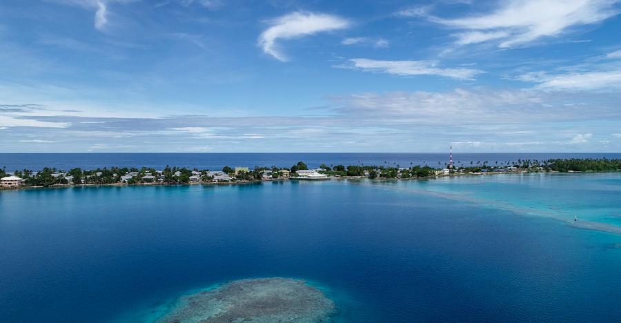 Nukunou, Tokelau. Photo Fatu Tauafiafi/Pacific Guardians/Taupulega Nukunonu.