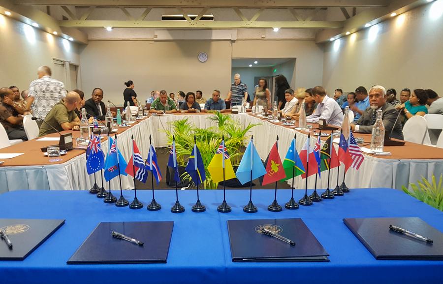 US Treaty signing ceremony in Nadi, Fiji, in 2016. Photo Fatu Tauafiafi/Pacific Guardians.