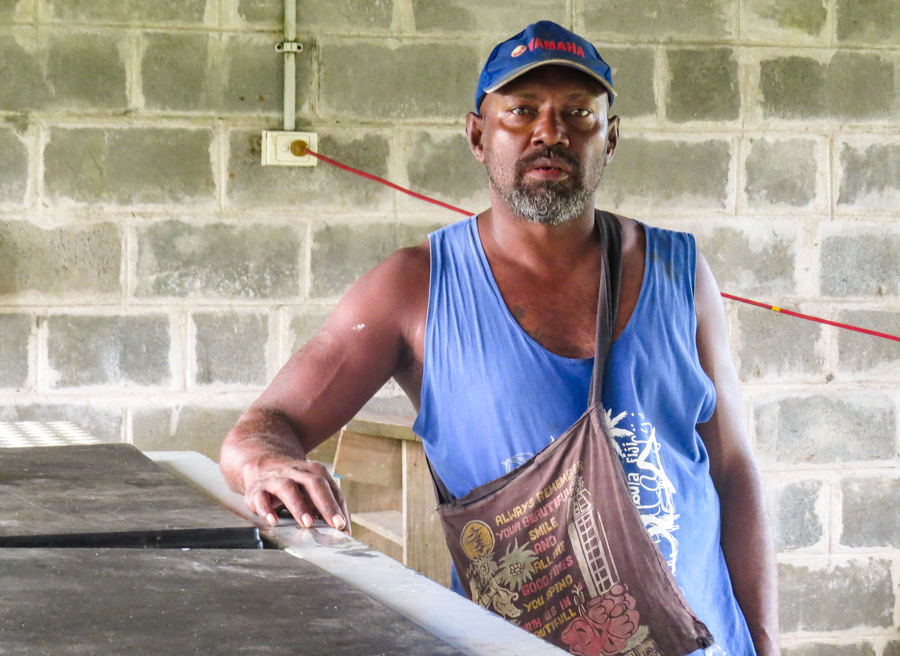 In Solomon Islands, Malaita Ward 16 Provincial Member Preston Billy. Photo: Ronald F. Toito'ona.