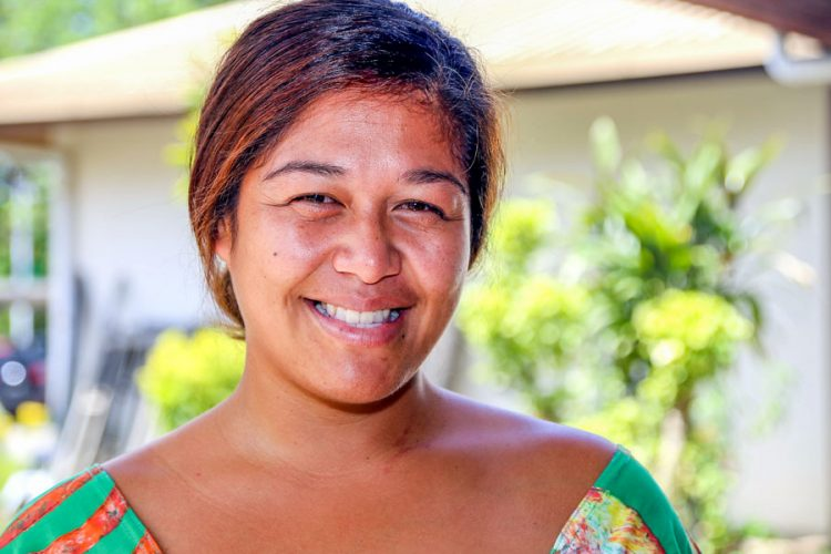 Head and shoulders photo of Latisha Maui-Mataora, senior fisheries officer and observer coordinator at Cook Islands Ministry of Marine Resources