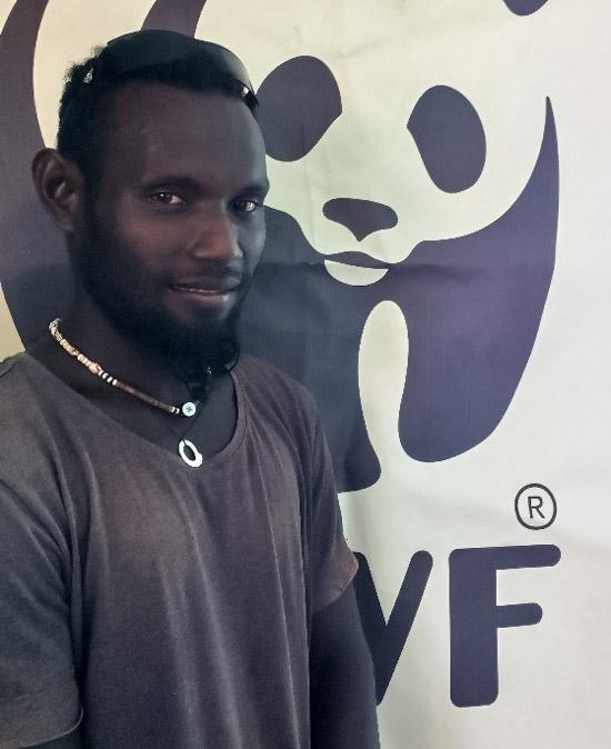 WWF Gizo conservation officer Piokera Holland. Photo George J Maelagi.