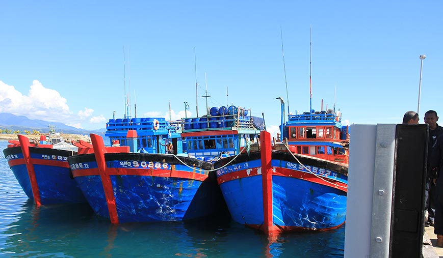 Reef Robbers: Who's paying? New pressures for Pacific surveillance from Vietnam's Blue Boats