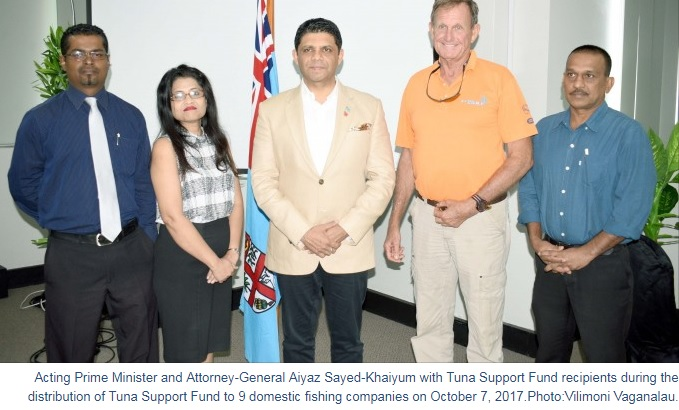 Seven Fijian fishing companies benefit from Tuna Support Fund