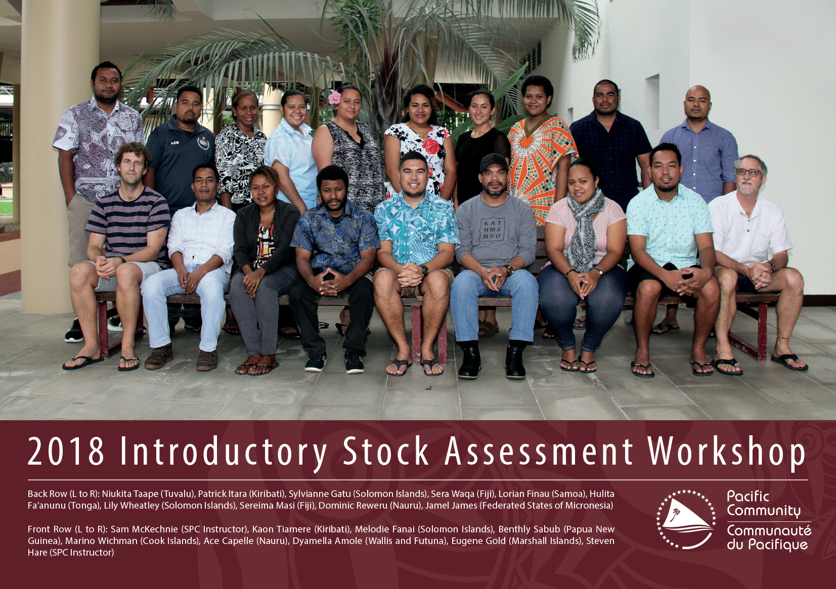 Tuna stock assessment training workshops in Noumea