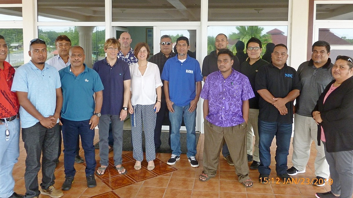 FSM government, fisheries sector learn about biodegradable fish aggregation devices