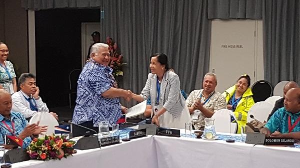 Samoa and FFA sign agreement on Regional Aerial Surveillance Program