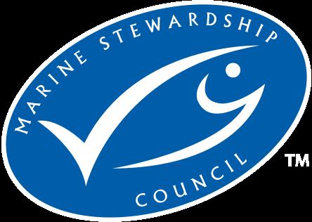 Marine Stewardship Council logo of certification