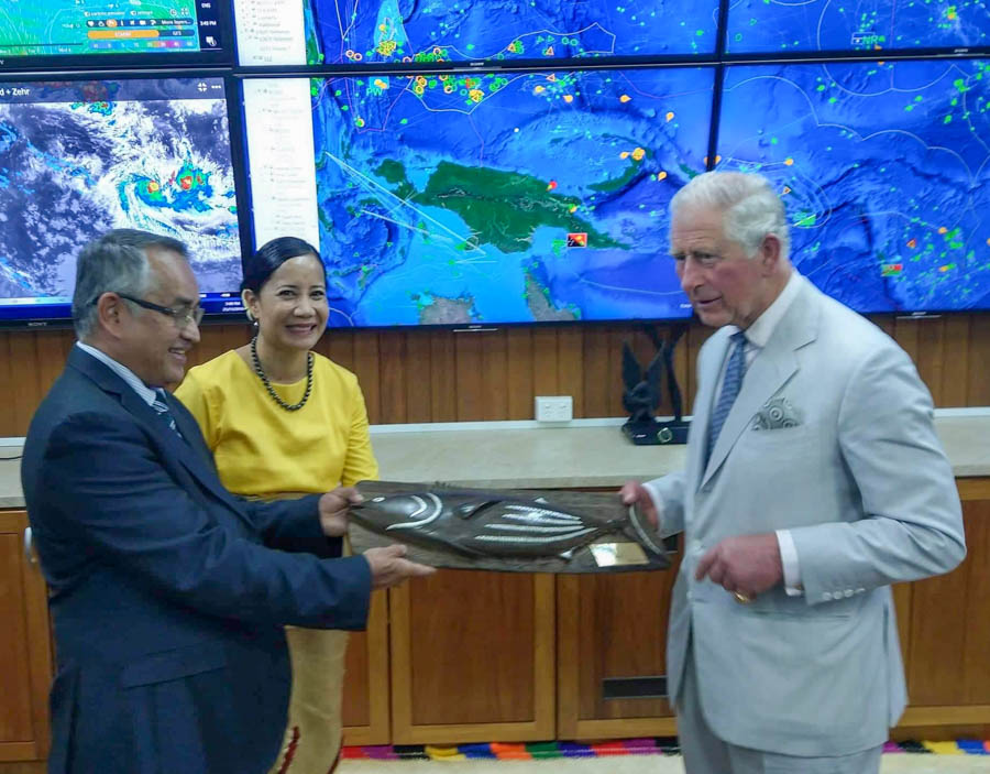 FFA welcomes the Prince of Wales to headquarters: media release