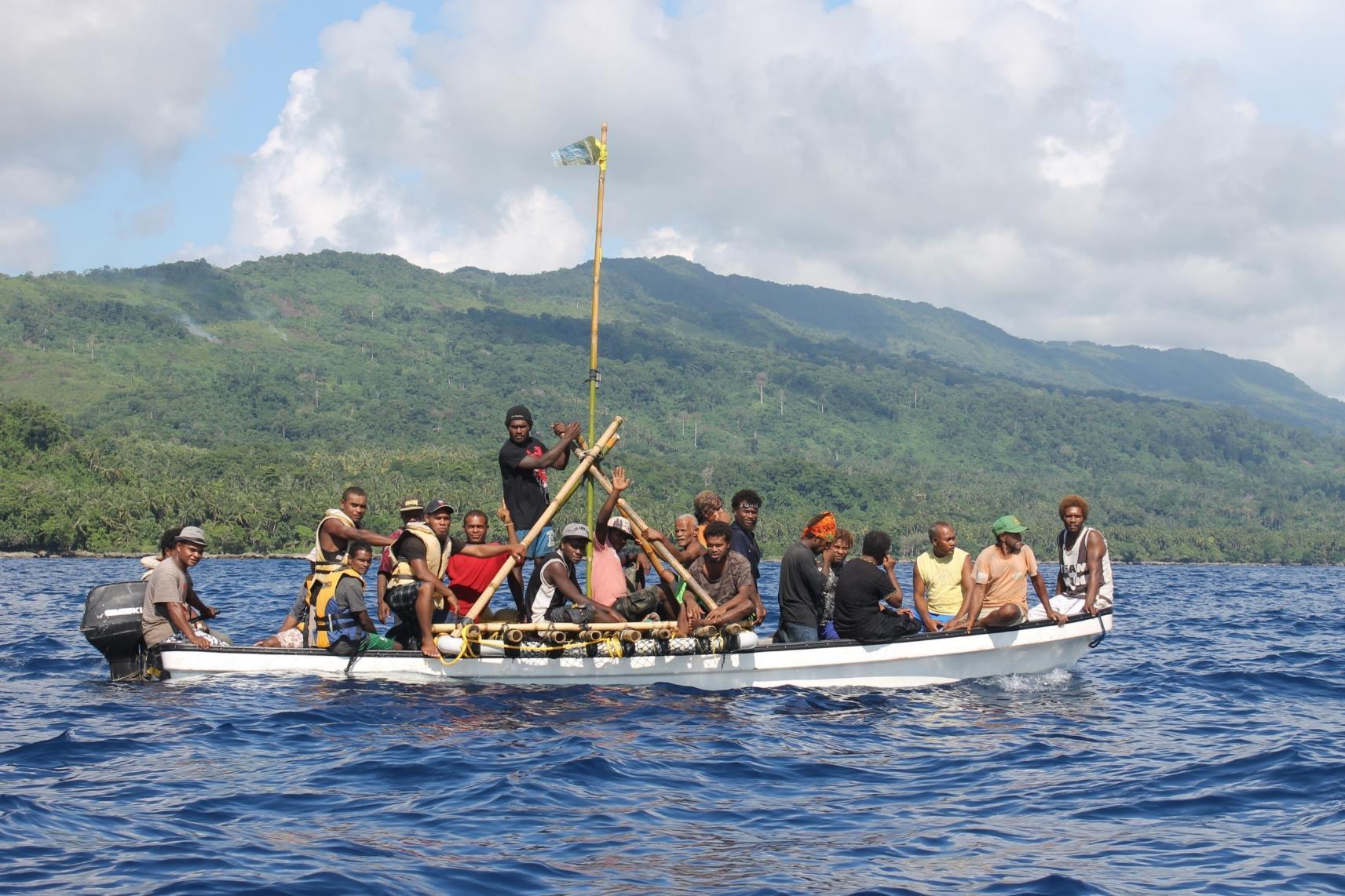 Malaita communities benefit from FADs to sustain fishing grounds