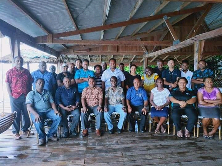 Participants of the workshop on the development of the Noro e-port pilot project, which took place in Munda in March. Photo: Dr Transform Aqorau.
