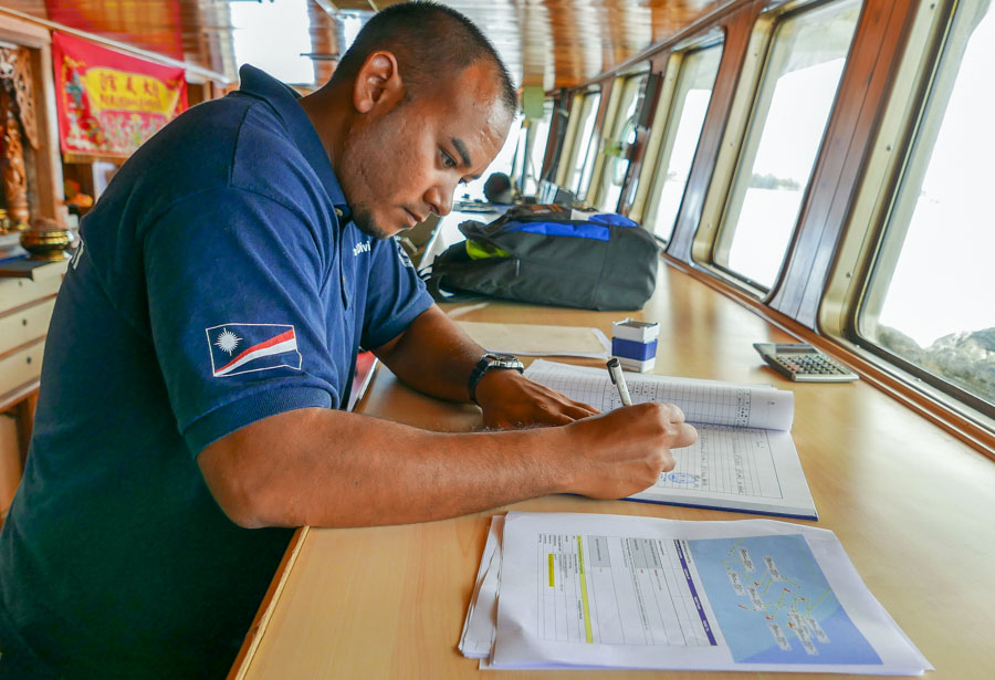 Skilled fisheries officers a critical part of effective port state measures, as Marshall Islands charge shows