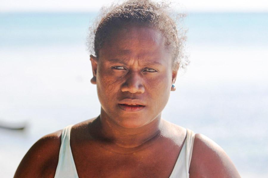 Head and shoulders portrait of Betty Koidi. Photo WorldFish/Bira'au Wilson Saeni.