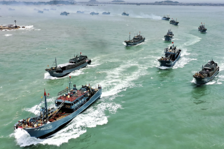 China's distant-water fleet continues to expand, gather critical attention in its wake