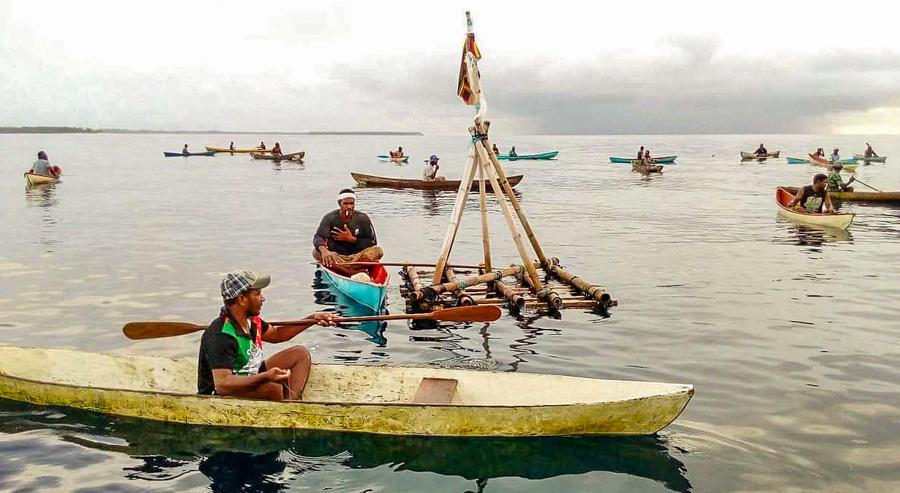 Malaitan community benefits from local government FAD program