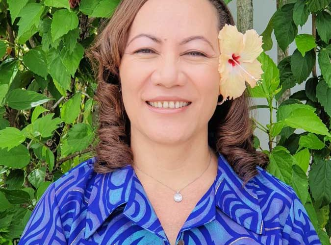 Head and upper body photo of 'Ana Finau Taholo, a Vessel Monitoring System adviser with FFA