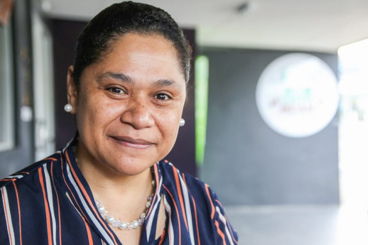 Head and shoulders photo of Mere Lakeba, Country Director, Conservation International–Fiji