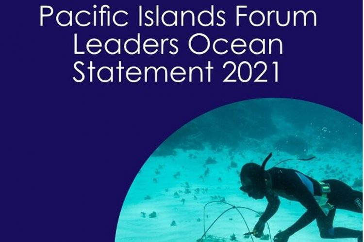 Pacific Islands Forum leaders ocean statement 2021