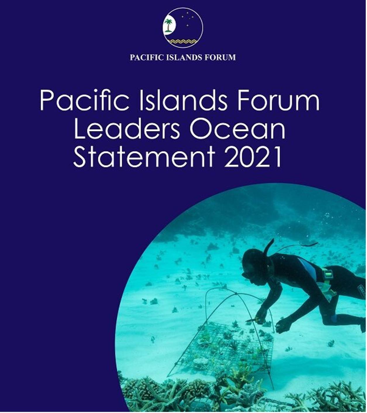 Pacific Islands Forum leaders ocean statement 2021
