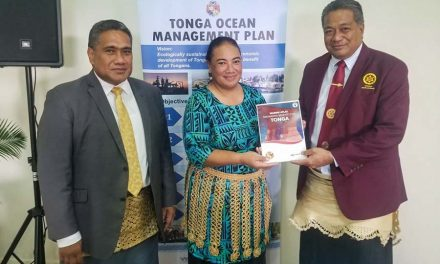 Tonga launches marine atlas and meets protection promise